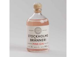 GIN Stockholms Bränneri Pink 100ml 40%vo