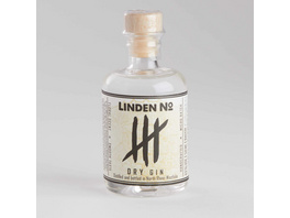 GIN Linden No.4 Dry Gin 0,05L 43Vol.