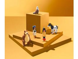 Yakari 5-teiliges Radiergummi-Set