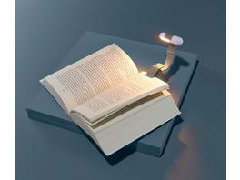 LED-Leselicht mit Akku