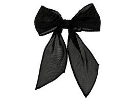 Haarspange - Black Bow