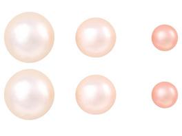 Ohrstecker - Set Perle