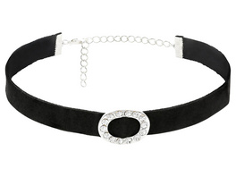 Choker - Diamond Ring