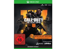 Call of Duty: Black Ops 4 Specialist Edition