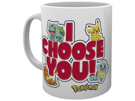 Pokémon - Tasse I choose you!