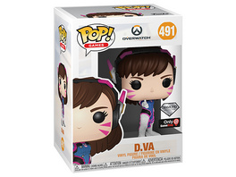 Overwatch - POP!-Vinyl Figur D.Va Diamond Collection (Funko Club exklusiv!)