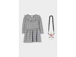 Set - Kleid und Umhängetasche - 2 teilig