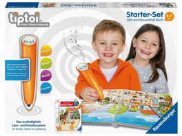 Ravensburger tiptoi® Starter Set, Stift und Bauernhof Buch