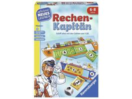 Ravensburger 24972 - Rechen-Kapitän, Rechen Lernspiel, Legespiel