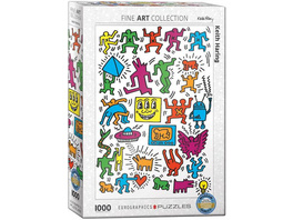 Eurographics 6000-5513 - Keith Haring Collage, Puzzle,