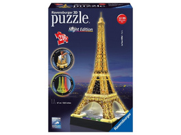 Eiffelturm, 3D-Puzzles Night Edition